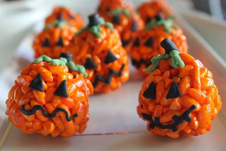 Słodkie dynie na halloween