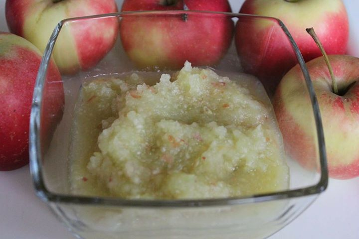 Mus z jabłek i selera naciowego