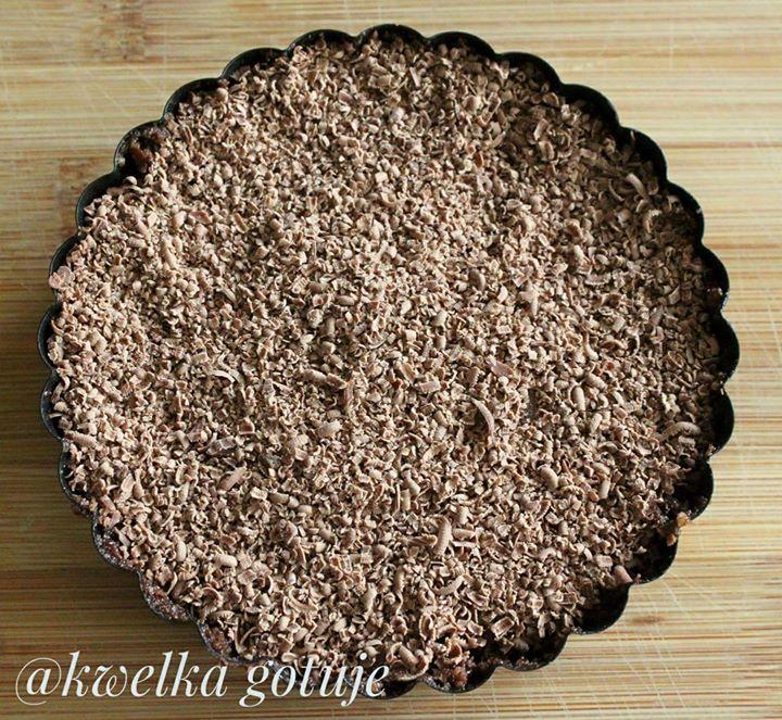 Deser migdałowy z czekoladą