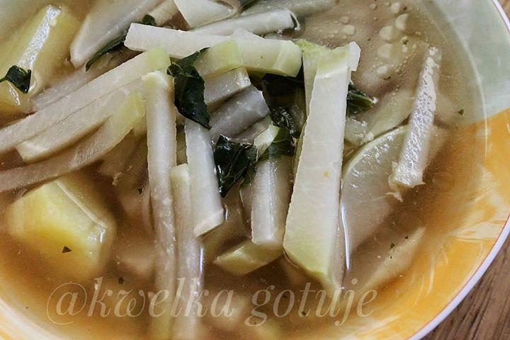 Kalarepkowa zupa
