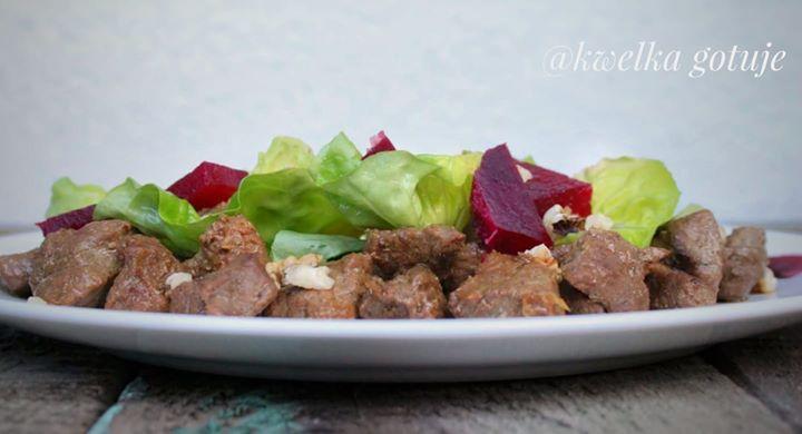 Sałatka z wołowiną