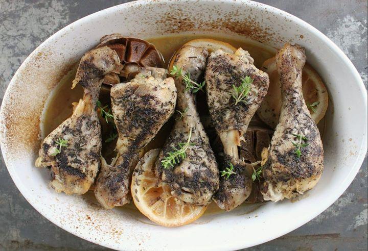 Kurczak tymiankowo-cytrynowy
