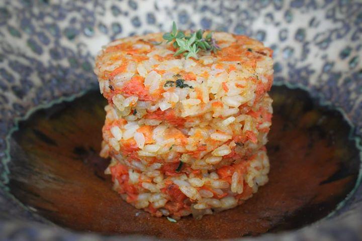 Kotlet ryżowo-marchewkowe