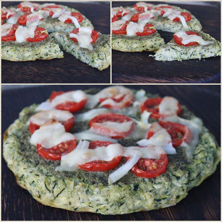 Pizza z cukinii