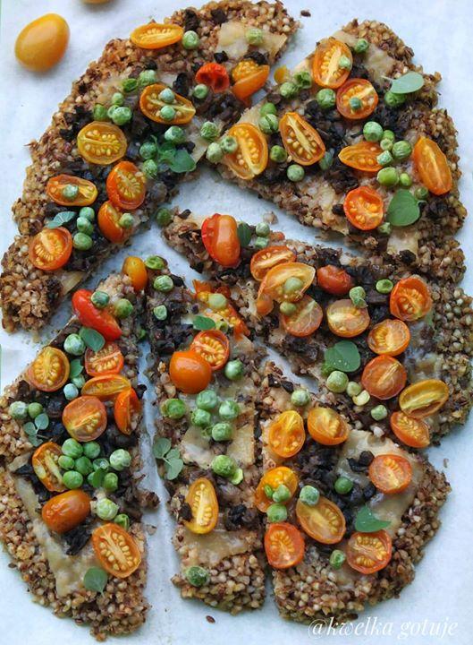 Jest weekend jest i pizza 🍕 u mnie zdrowa wegańska i bezglutenu pizza