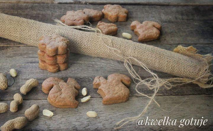Ciasteczka gryczane z pastą orzechową