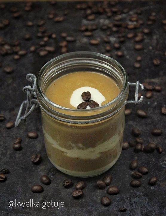 Kawowy pudding jaglany