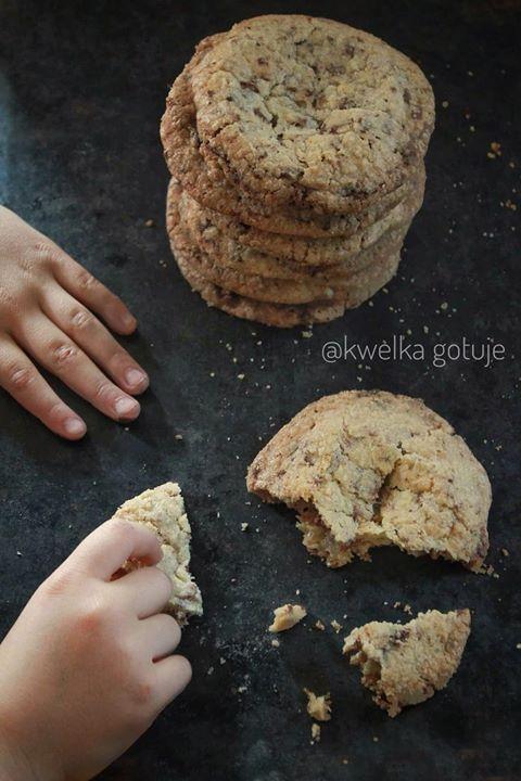 Czekoladowe ciasteczka. Są idealne! a do tego szybkie i proste w