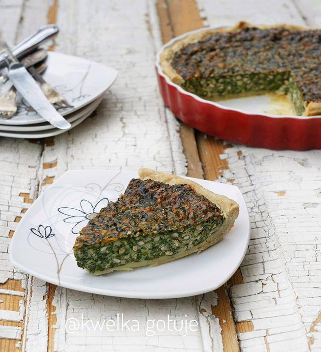 Szpinakowa tarta w stylu włoskim