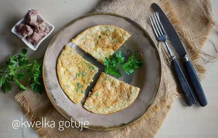 Tuńczykowy omlet