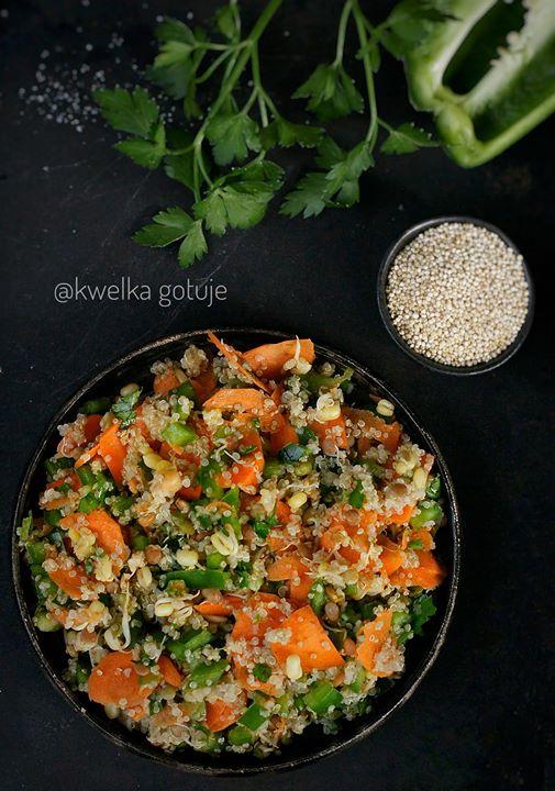 Stir-fry z komosą ryżową