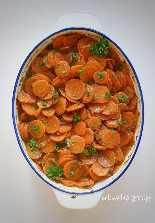 Pieczone marchewki do obiadu