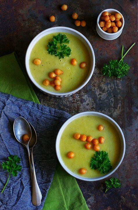 Zupa cebulowo-porowa