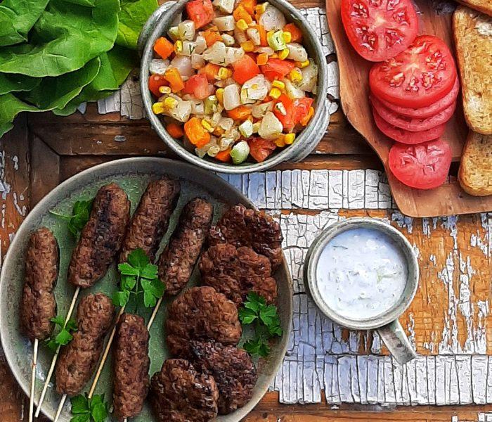Grill – kofta i mielone do burgerów