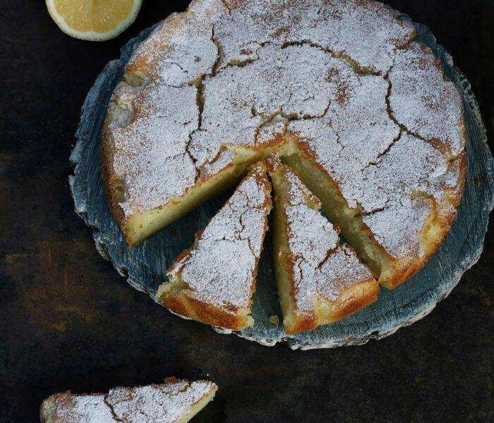 Oliwne ciasto cytrynowe z limoncello
