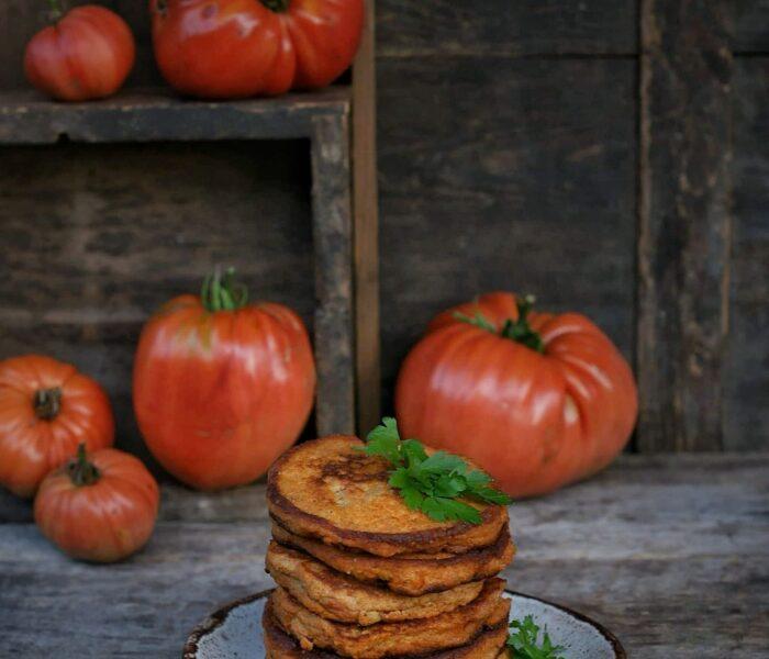 Pomidorowe placki