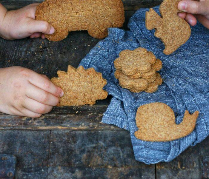 Ciasteczka z mąki z płaskurki