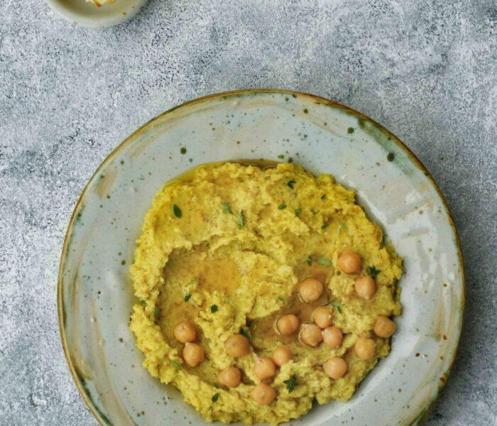 Hummus z pieczonego kalafiora