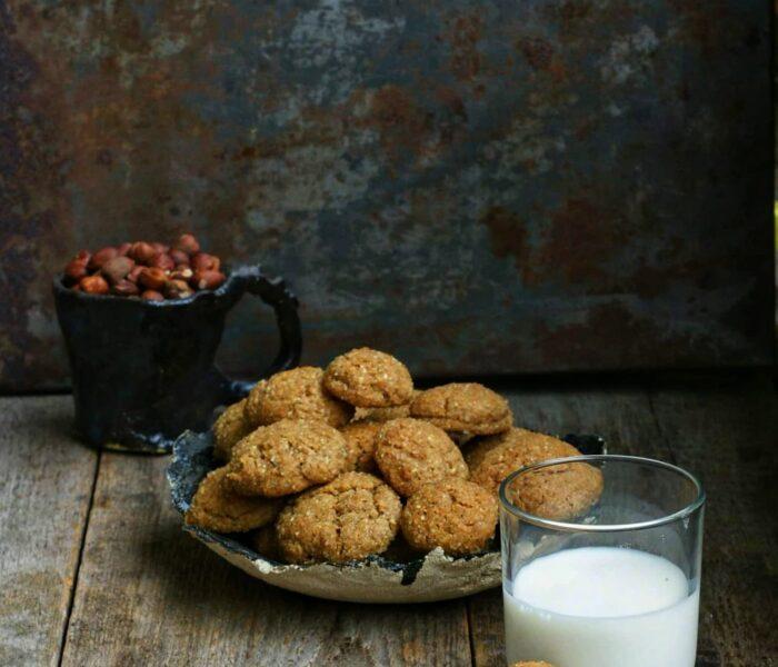 Orzechowe ciasteczka imbirowo-cynmonowe