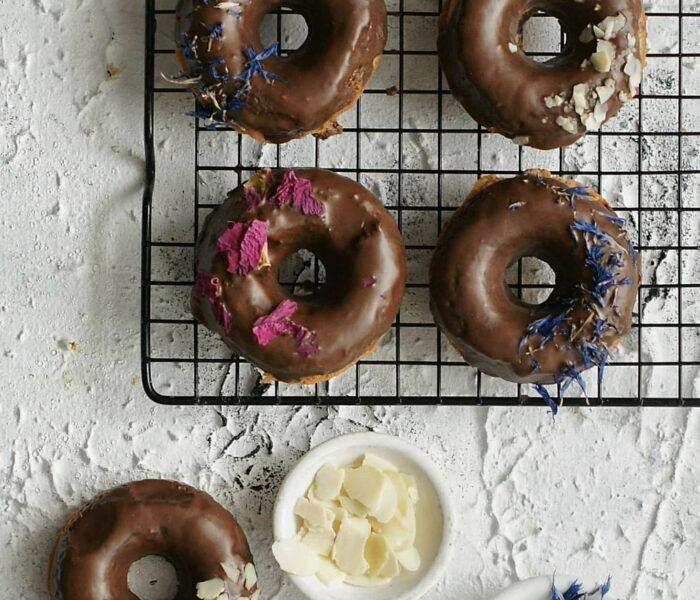 Donuts w wersji fit i bez glutenu
