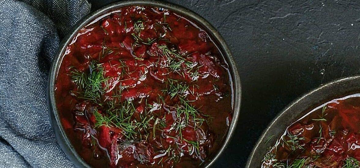 Pomidorowa z botwinką