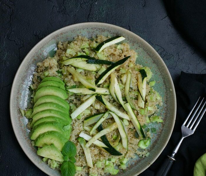 Komosa ryżowa z warzywami